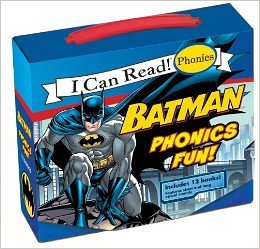 batman phonics books