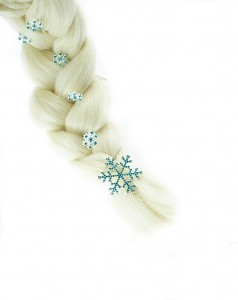 frozen hair pins