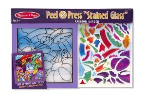 peal & press stained glass