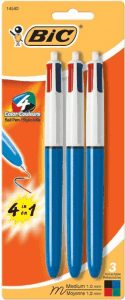 4 color awesome note taking pen