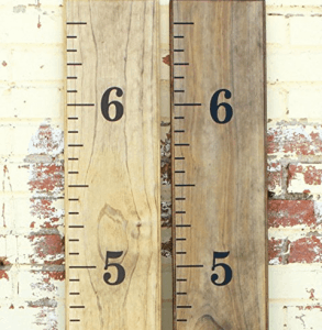 vinyl for making wooden growth chart